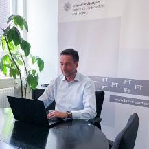 Professor Schulz moderierte am IFT die virtuelle Podiumsdiskussion
